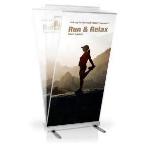 Roll-up Media Screen Outdoor